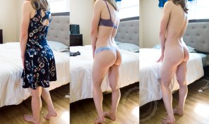 amateur photo On/off view of my new sundress