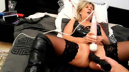 MILF Excvited With Huge Toy