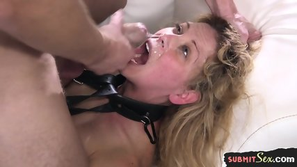 BDSM Submissive Milf Gets Her Ass Hardfucked